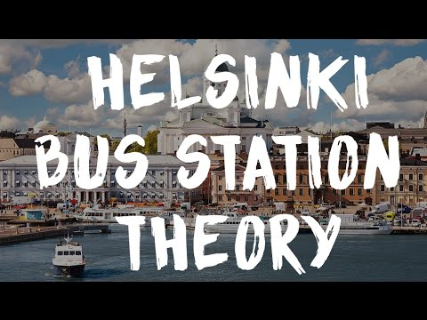 HELSINKI BUS STATION THEORY | VLOG #79
