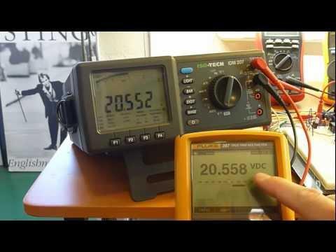 Multimeter review / buyers guide: ISO-TECH IDM207 Bench multimeter