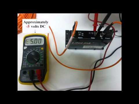 DX-7001 RS-422 Field Test Procedure