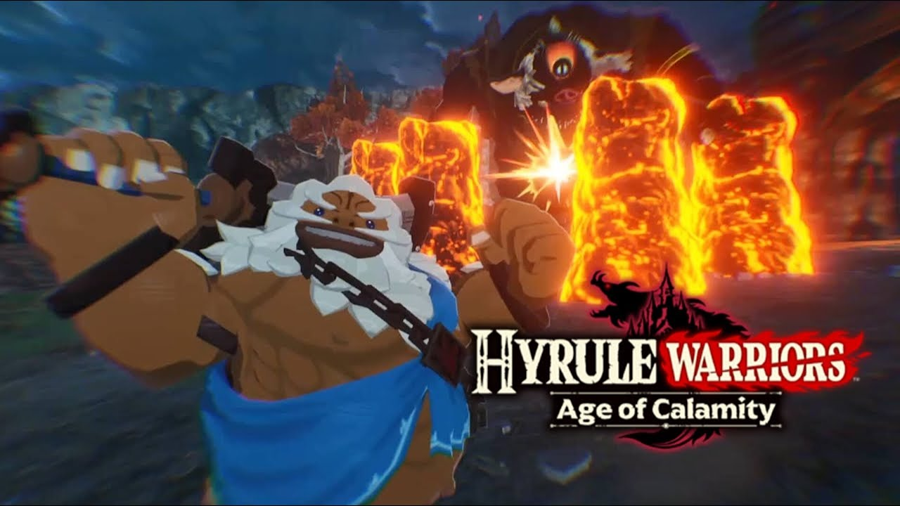 More Hyrule Warriors Age Of Calamity Gameplay Daruk M64 Miketendo64