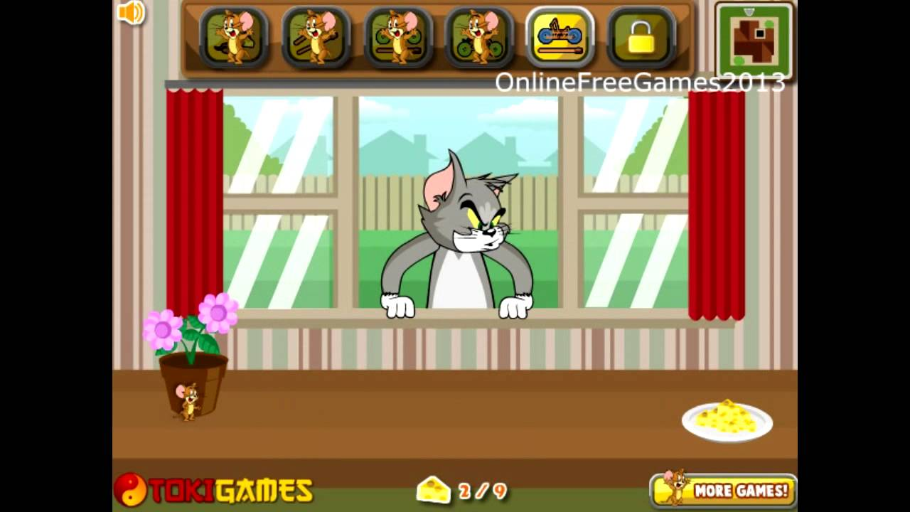 Tom And Jerry Online Games Tom And Jerry Cheese War 2 Game Youtube
