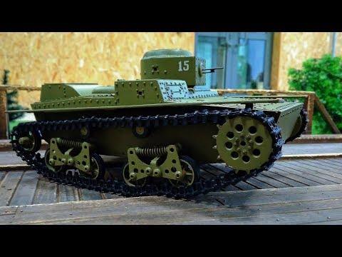 Т-38 Малый Плавающий Танк на Радиоуправлении