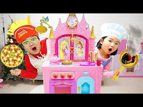 Boram Food Toys and Princess Kitchen Play Set
