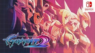 Azure Striker Gunvolt 2 - 60 FPS Gameplay on Nintendo Switch!