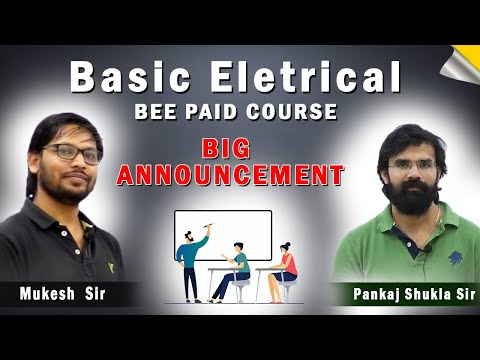 Basic Electrical Paid Course I By Your Favourite Mukesh sir I Launching offer I SSC JE/Other JE