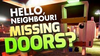 MISSING DOORS HACK? - WHAT'S IN 3RD FLOOR? Hello Neighbour Modding - Hello Neighbor Alpha 1 Gameplay