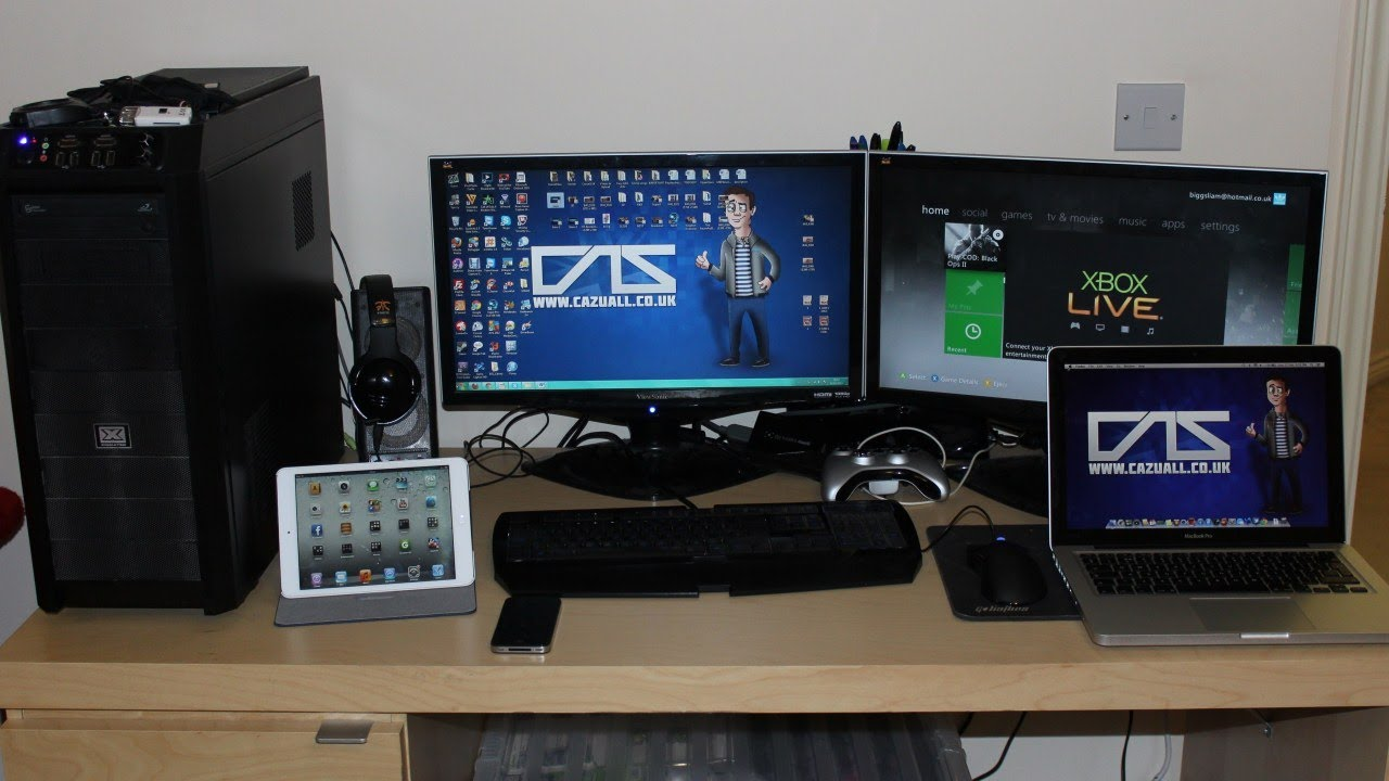 My Gaming Setup Review Products Giveaway Items Amp My Pc