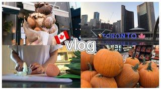[유학생vlog] 토론토에서 추석 보내기 • 새 집 구…