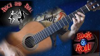 Рок-н-ролл на гитаре. Rock'n'roll - guitar lesson