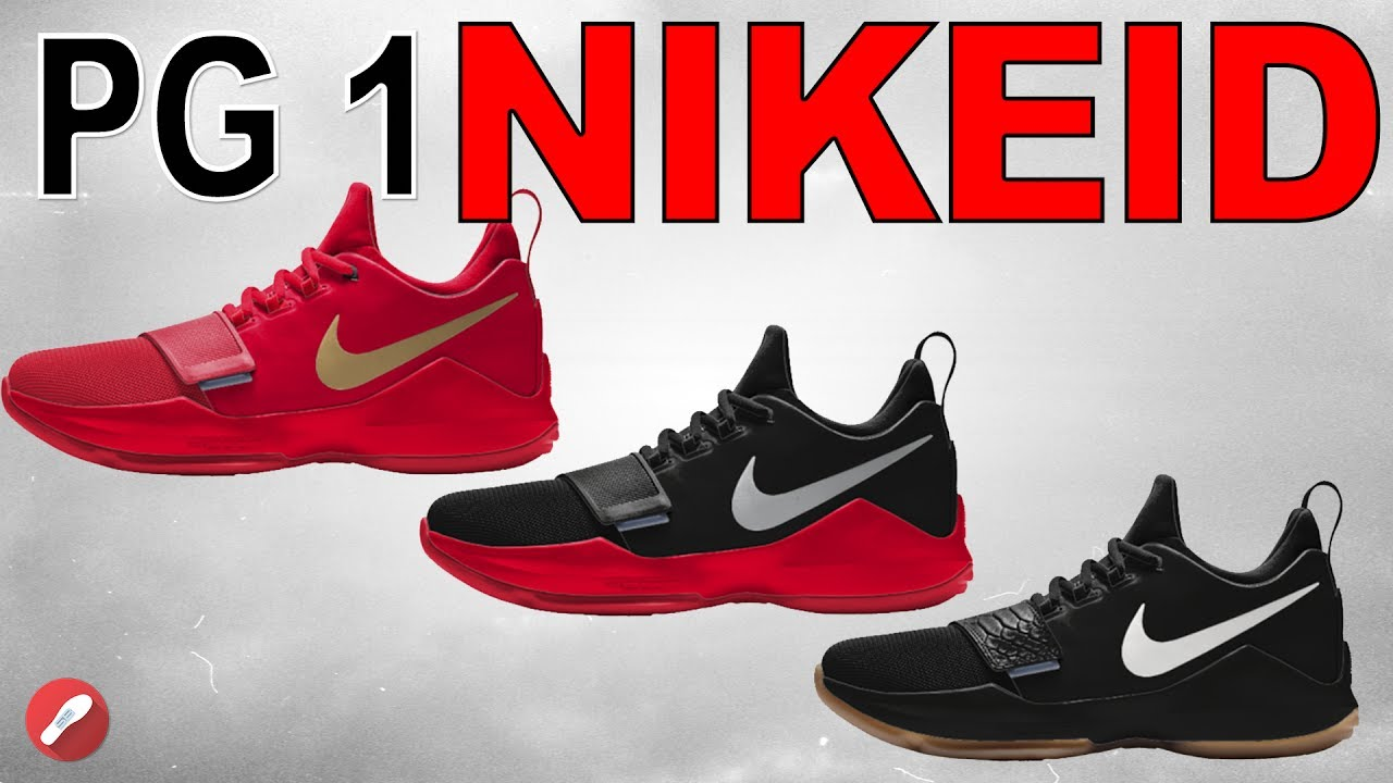 customizing the nike pg 1 on nikeid youtube. Black Bedroom Furniture Sets. Home Design Ideas