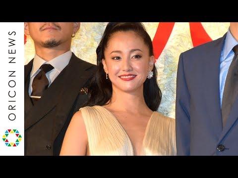 沢尻エリカ、胸元大胆ドレスで「いつでもどうぞ」 二階堂ふみの熱烈ラブコールに応える 映画『人間失格 太宰治と3人の女たち』ジャパンプレミア
