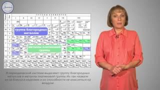 Химия 9 класс. Положение металлов периодической системе Менделеева