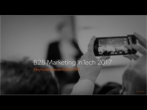 Louis Fernandes. How to hack marketing by sitting in sales. B2B Marketing Intech 2017
