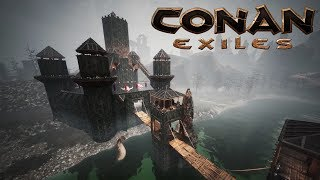 Conan Exiles - Castle of the Undead (Speed Build)