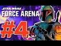 Boba Fett Hunts The Skywalkers! Star Wars Force Arena