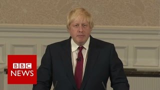 Boris Johnson out of contest for Conservative Party leadership - BBC News