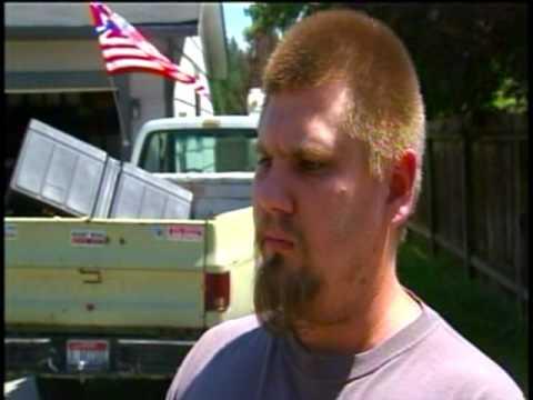 White separatist's flag display irks Hayden neighbors