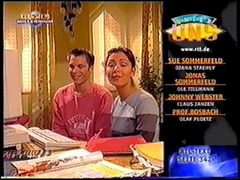 Unter Uns Stars Homepage 1999