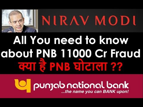 All about PNB Scam by Nirav Modi | PNB fraud explained in Hindi