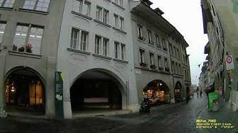 CH: Gemeinde Burgdorf. Kanton Bern. Rundfahrt durch die Stadtmitte. Oktober 2019