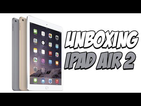 iPad Air 2 Meu primeiro Tablet UNBOXING