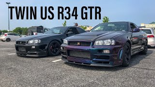 Twin R34 GTR Owned By Twin Brothers!