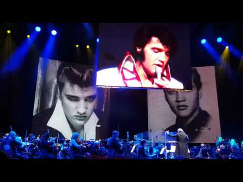 Elvis Presley with the Royal Philharmonic Orchestra - In The Ghetto