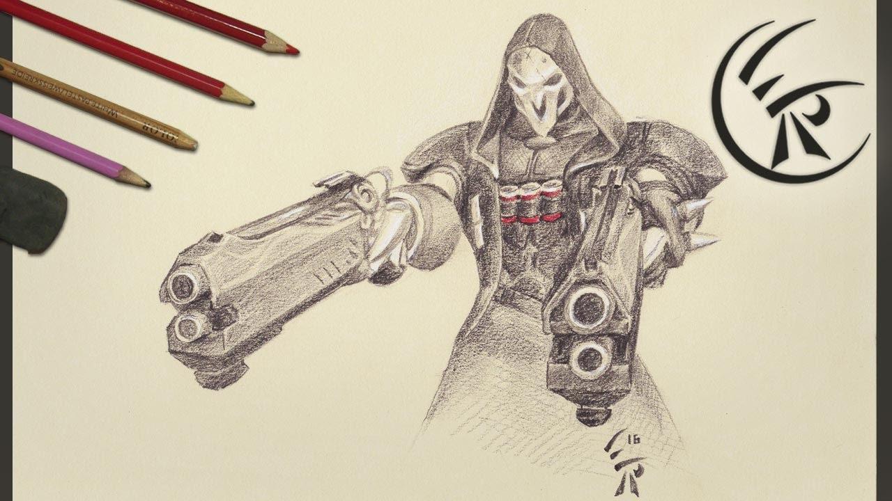 Uncategorized Reaper Drawing drawing reaper timelapse youtube