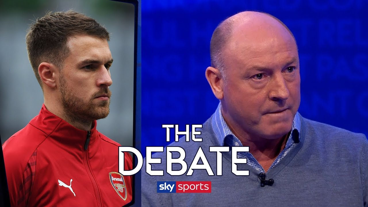 Are Arsenal making a mistake letting Aaron Ramsey leave for free? | The Debate | McMahon & Schwa
