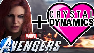 Marvel Avengers Game News | Crystal Dynamics Loves Black Widow