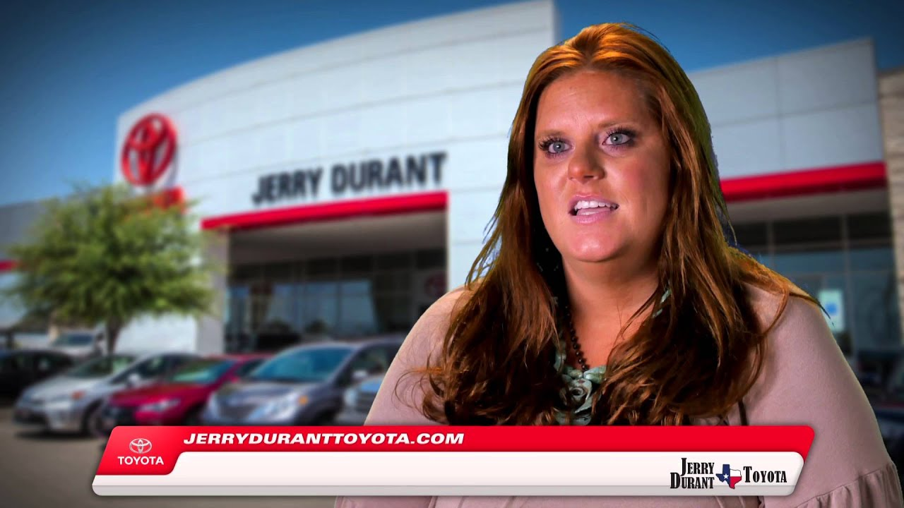 Jerry Durant Toyota Employee Video Amy Anderson