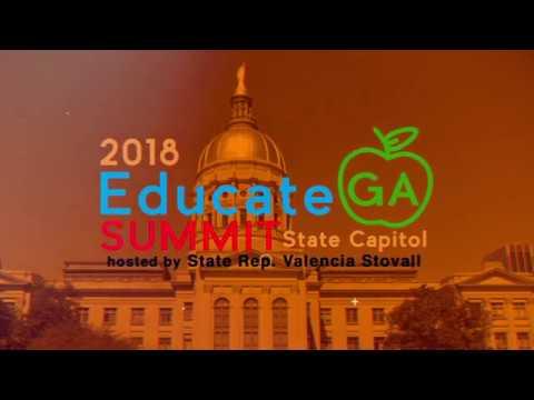 State Representative Valencia Stovall Invites You to the 2018 Educate GA Summit