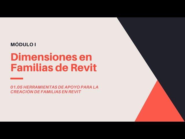 Familias en Revit 2020 | 05 03 Dimensiones en Familias de Revit