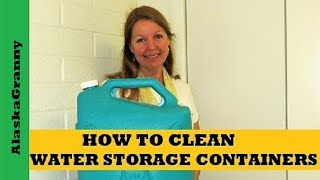 How To Clean Water Storage Containers - Reliance Desert Patrol