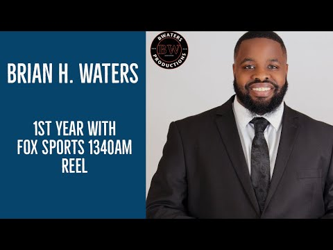 Brian H Waters 1st Year with Fox Sports 1340