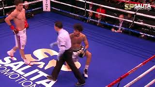SHOHJAHON ERGASHEV VS SONNY FREDRICKSON FULL FIGHT