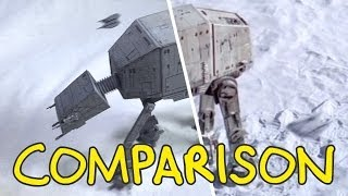 Star Wars: Battle of Hoth - Homemade Side by Side Comparison