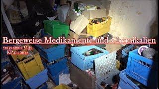 Lost Place - Bergeweise Medikamente und Chemikalien