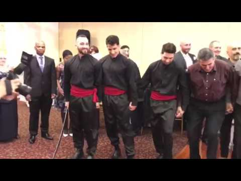 Lebanese wedding dabke