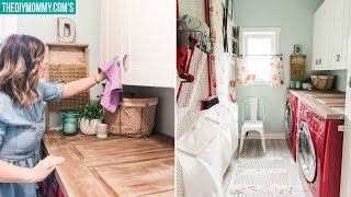 Laundry Room Clean & Organize with Me!