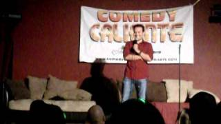 Sebastian Cetina host of Comedy Caliente Fundraisers