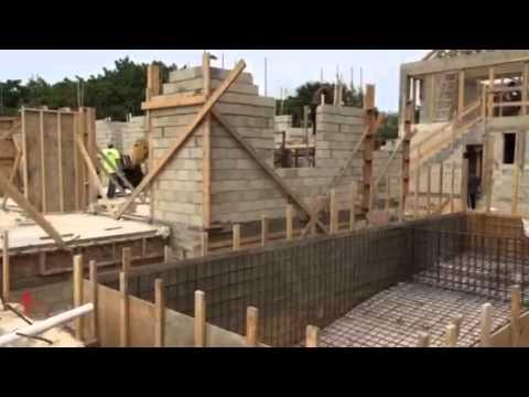 Cayman Concrete Pumping Shell Construction