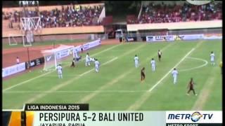 Persipura vs Bali United    Highlights and All Goals    Qnb league Rabu 8 April 2015