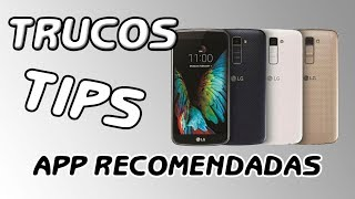 LG K10 2017  TIPS TRUCOS y App´s Android HD 📲📲