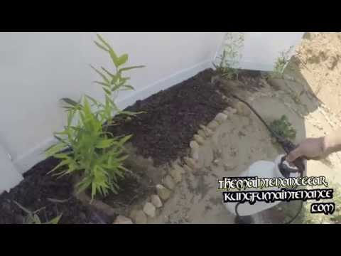 How To Keep Mulch From Blowing Away In High Winds Plus Preserve Color Garden Landscaping Video
