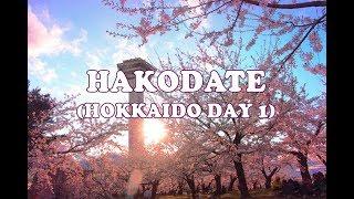 Hokkaido Spring Day 1 Hakodate Goryokaku Mt Hakodate