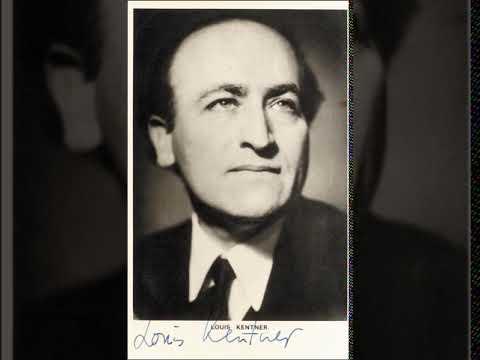 Louis Kentner - Liszt Vallée d'Obermann (BBC Broadcast)