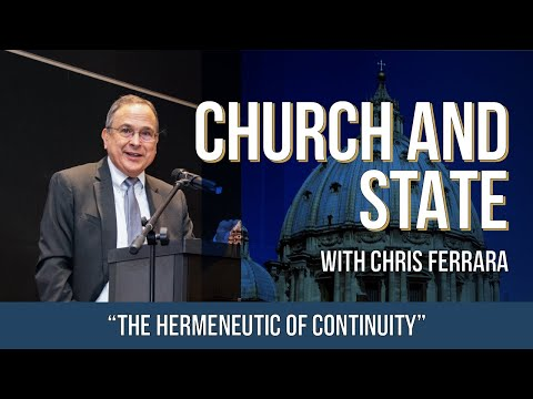 Church and State: The Hermeneutic of Continuity