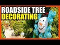 Roadside Christmas Tree Decorating- An Austin Tradition : LIVE
