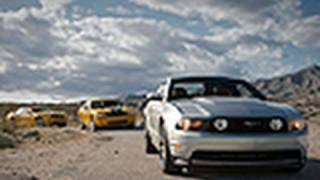 Pony Car Wars! 2011 Ford Mustang GT vs Camaro SS and Challenger SRT8
